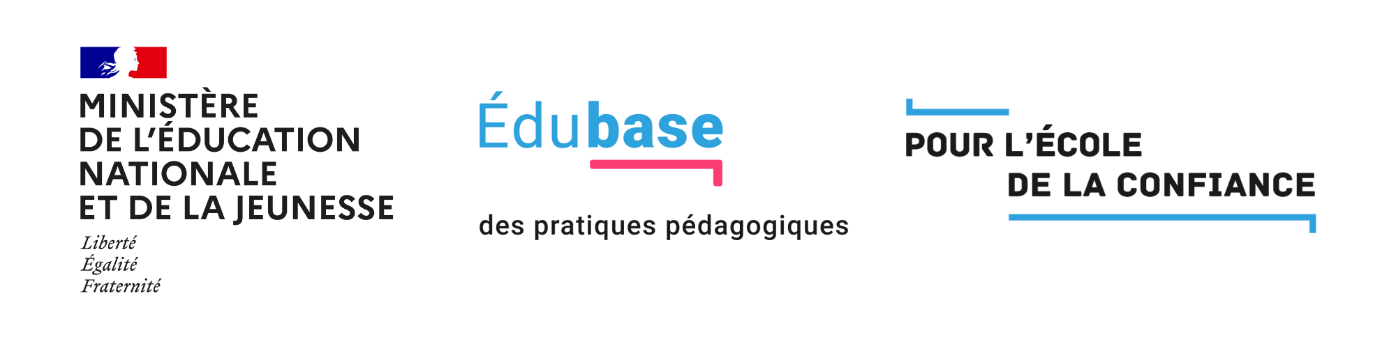 logotype Édubase MENJ